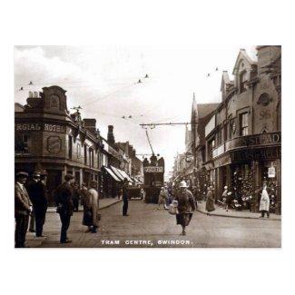 Old Postcard - Swindon, Wiltshire