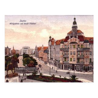 Old Postcard - Szczecin, Poland