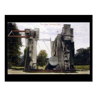 Old Postcard - Telescope, Birr, Co Offaly