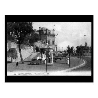 Old Postcard - The Esplanade, Southampton