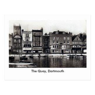 Old Postcard The Quay Dartmouth
