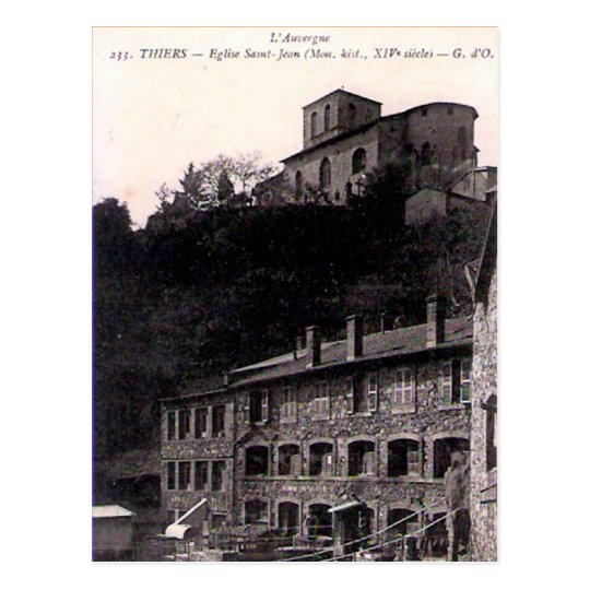 Old Postcard - Thiers, Puy de Dôme, France