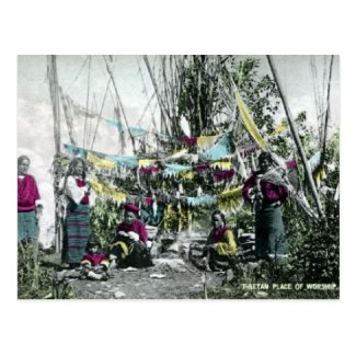 Old Postcard - Tibet