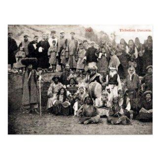 Old Postcard - Tibetan Dancers