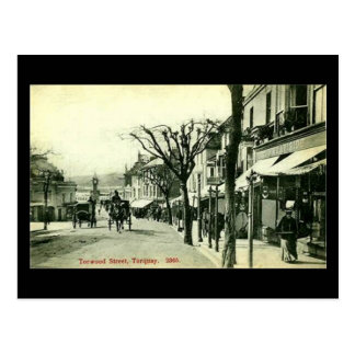 Old Postcard - Torwood St, Torquay