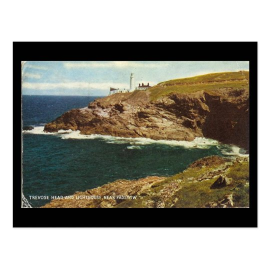 Old Postcard - Trevose Head, Padstow, Cornwall