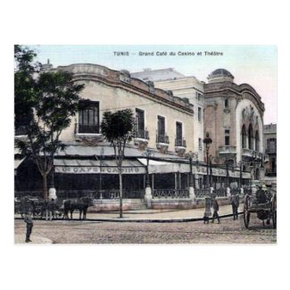 Old Postcard - Tunis, Tunisie