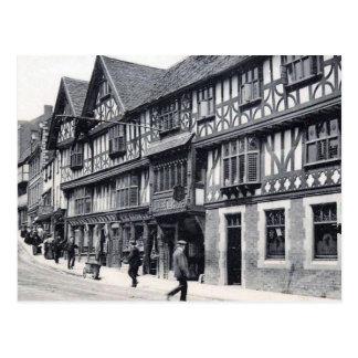 Old Postcard - Unicorn Hotel, Shrewsbury