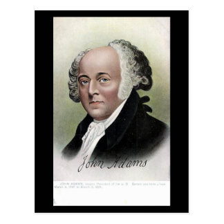 Old Postcard - US President John Adams