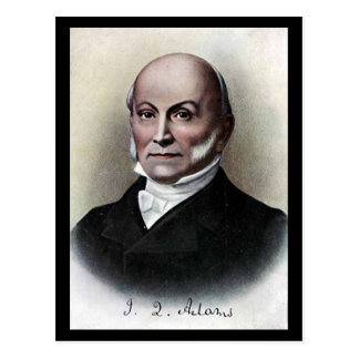 Old Postcard - US President John Quincy Adams