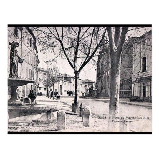 Old Postcard - Uzès, Gard, France.
