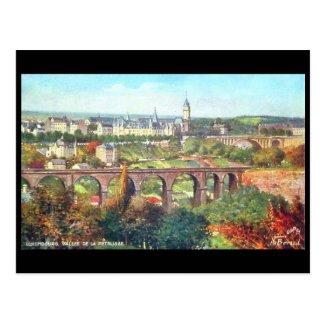 Old Postcard - Vallee de la Petrusse, Luxembourg