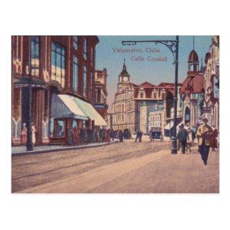 Old Postcard - Valparaiso, Chile