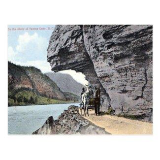 Old Postcard - Vaseux Lake, BC, Canada