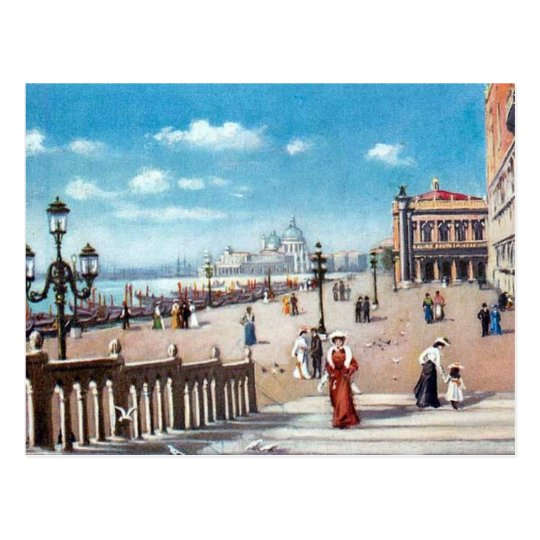 Old Postcard - Venice, Italy