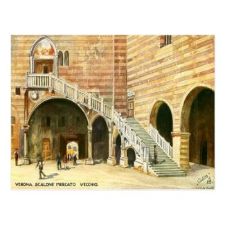 Old Postcard - Verona, Italy