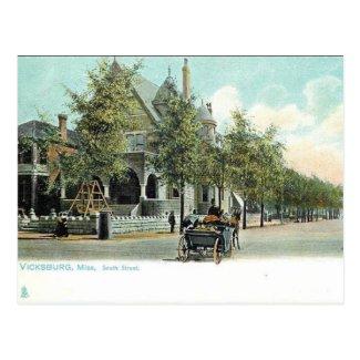 Old Postcard - Vicksburg, Mississippi, USA