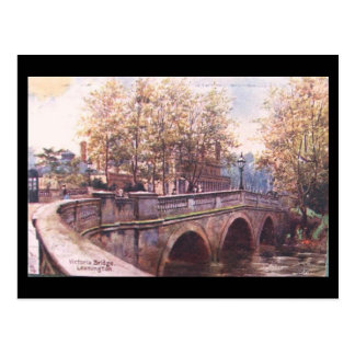 Old Postcard - Victoria Bridge, Leamington Spa