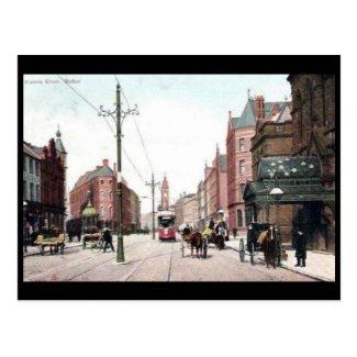 Old Postcard - Victoria St, Belfast