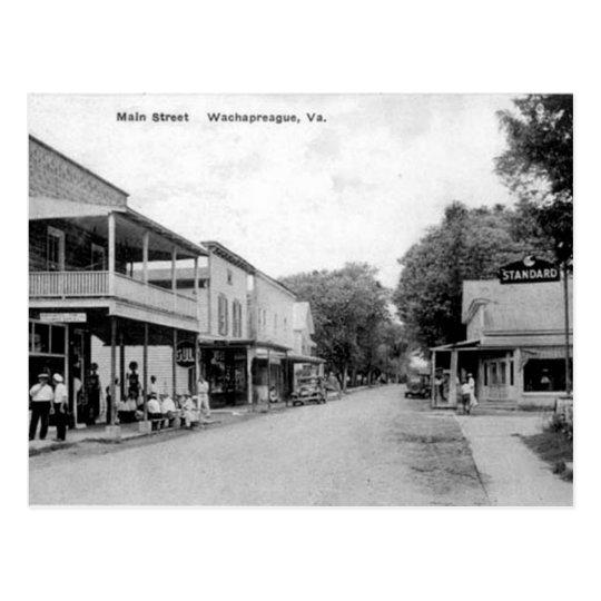 Old Postcard - Wachapreague, Virginia, USA