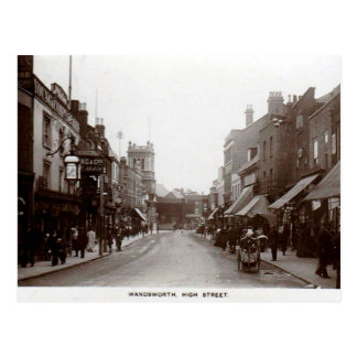 Old Postcard - Wandsworth High St, London