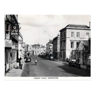 Old Postcard - Warminster, Wiltshire