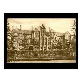Old Postcard, Warwick School