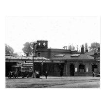 Old Postcard - Watford Junction Station