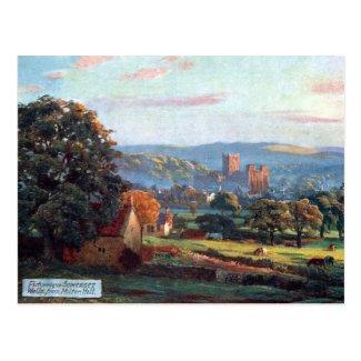 Old Postcard - Wells, Somerset