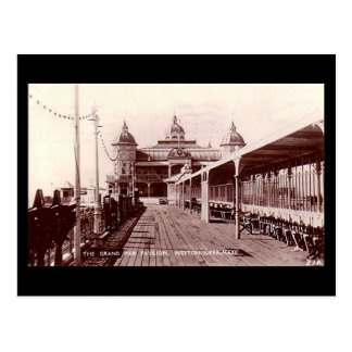 Old Postcard, Weston-super-Mare, Grand Pier Postcard
