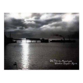 Old Postcard - Weston-super-Mare, Old Pier
