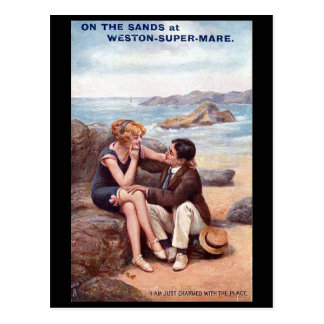 Old Postcard - Weston-super-Mare, Somerset