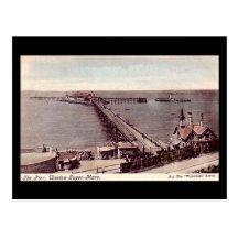 Old Postcard, Weston-super-Mare, the Pier Postcard