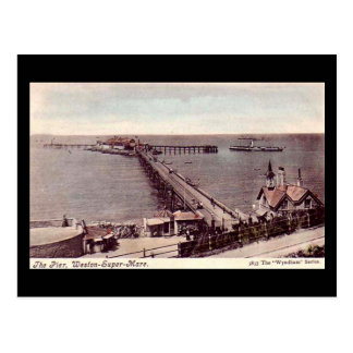 Old Postcard, Weston-super-Mare, the Pier Postcard
