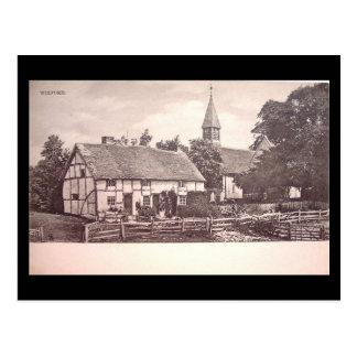 Old Postcard, Wixford, Warwickshire Postcard
