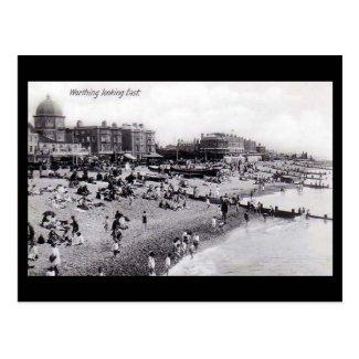 Old Postcard, Worthing Beach