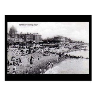 Old Postcard, Worthing Beach Postcard