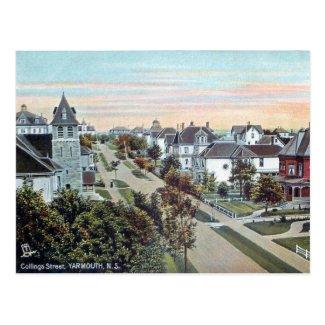 Old Postcard - Yarmouth, Nova Scotia