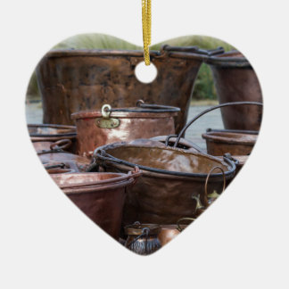 old pots and pans christmas ornament
