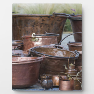 old pots and pans plaque