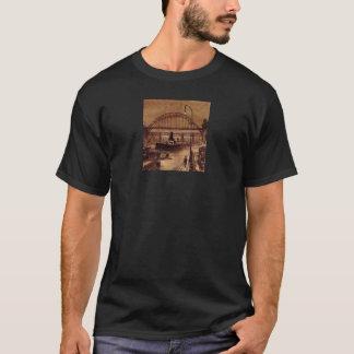 Old Quayside Adult Black Tee Shirt