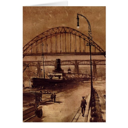 Old Quayside Card
