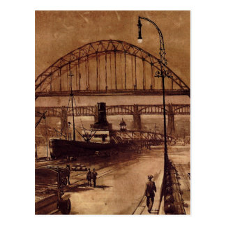 Old Quayside Post Card