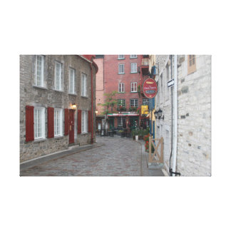 Old Quebec - Color Canvas Print