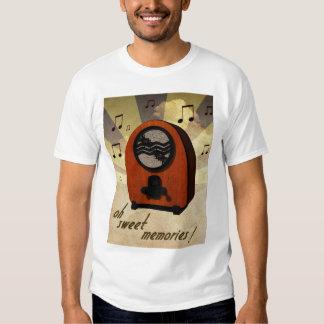 Old radio tee shirts