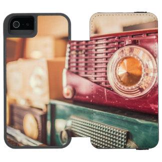 Old radios incipio watson™ iPhone 5 wallet case