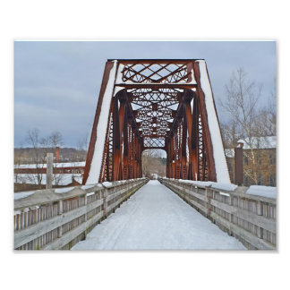 Old Railroad Bridge Photo Print