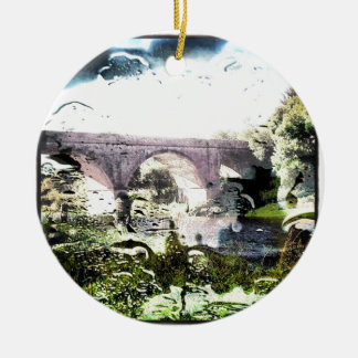 Old Railway Bridge Christmas Ornament