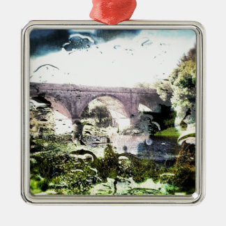 Old Railway Bridge Christmas Ornament