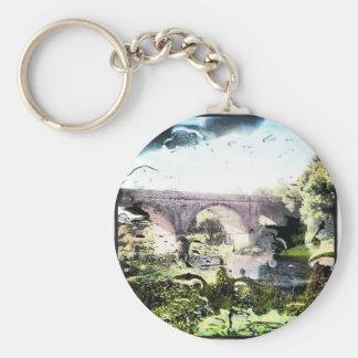 Old Railway Bridge Key Chain